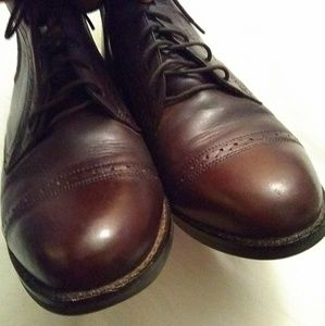 Ariat Shoes - Ariat Leather lace up ankle boots brown sz 7.5 M